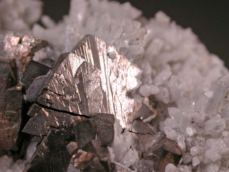 Arsenopyrite, Quartz