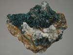 Gormanite, Quartz, SideriteYukon Phosphates, Gormanite