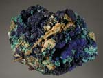 Azurite, MalachiteMexico, Various Minerals and Localities