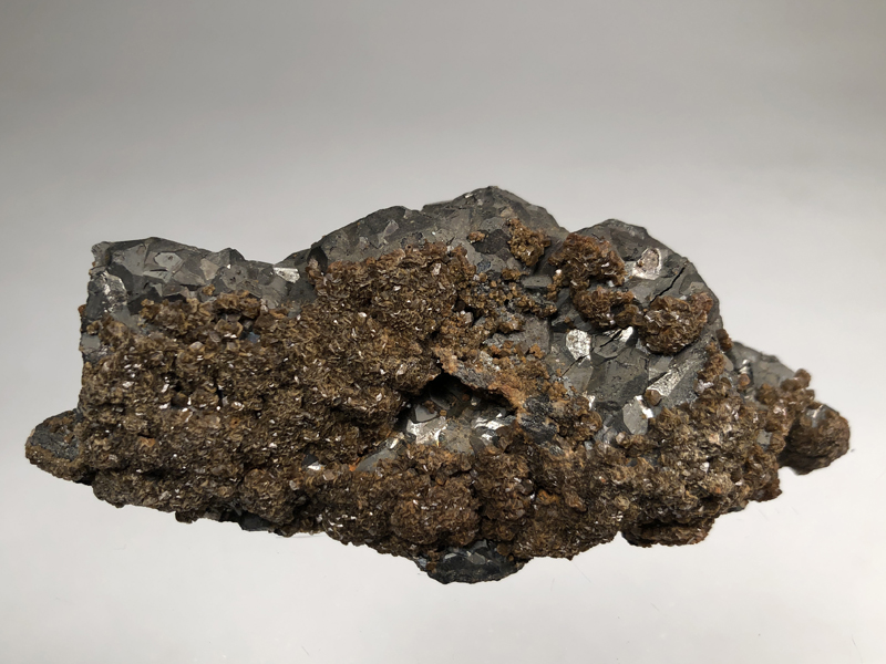 Bournonite, Siderite
