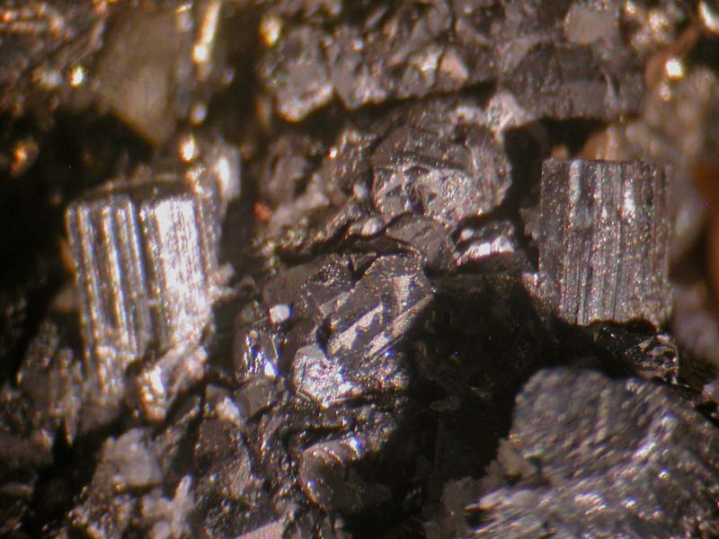 Bournonite, Pyrite, Sphalerite