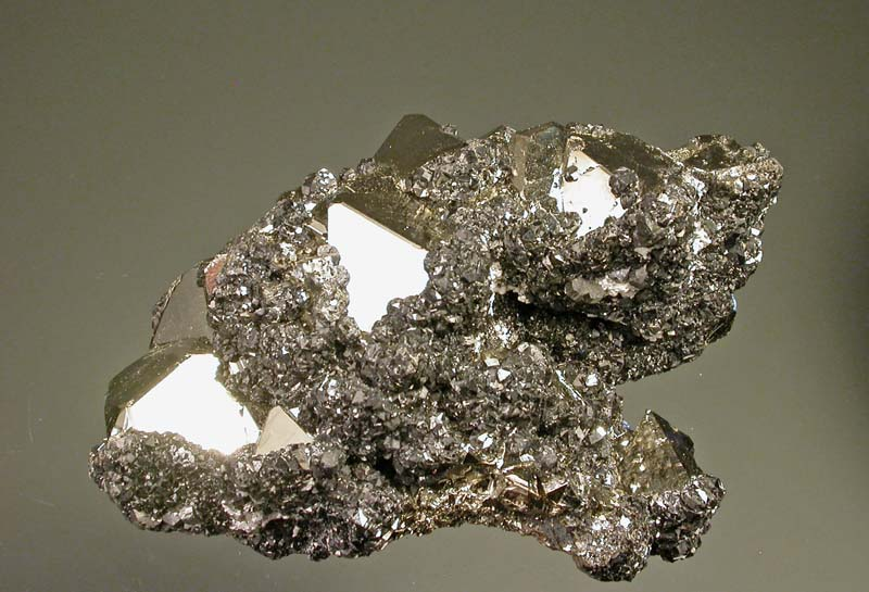 Pyrite, Sphalerite, Bournonite