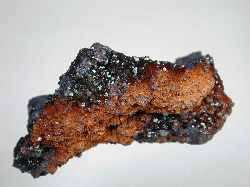 Azurite, Malachite ps Cuprite