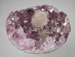 Fluorite, Quartz, var amethystTreasures, Odds and Sods, Various Localities