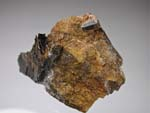 Fergusonite-(Y), BiotiteGrenville, Fergusonite-(Y), J.G. Gole Quarry, Madawaska, Ontario