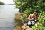 Daniel Joyce at WorkRecent Activities -Dog Lake, Collecting Diopside