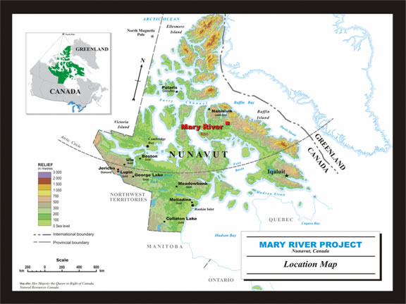 Baffin Island Mary River Iron Project