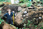 Ray, hard at workRecent Activities -Collecting at the Bear Lake Diggings
