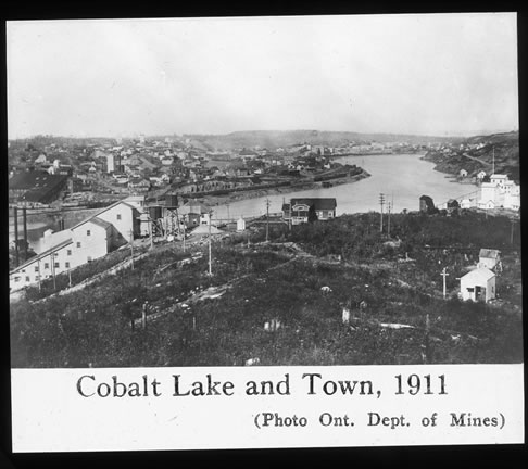 Cobalt Lake and Town, 1911