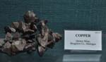 Copper, Quincy Mine, 14.0cm acrossRecent Activities -Keweenaw Week, Page Two