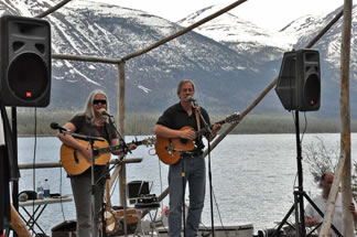 A concert in the Yukon