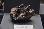 Silver, Copper, Kearsarge Mine, 14.0cm acrossRecent Activities -Keweenaw Week, Page Two
